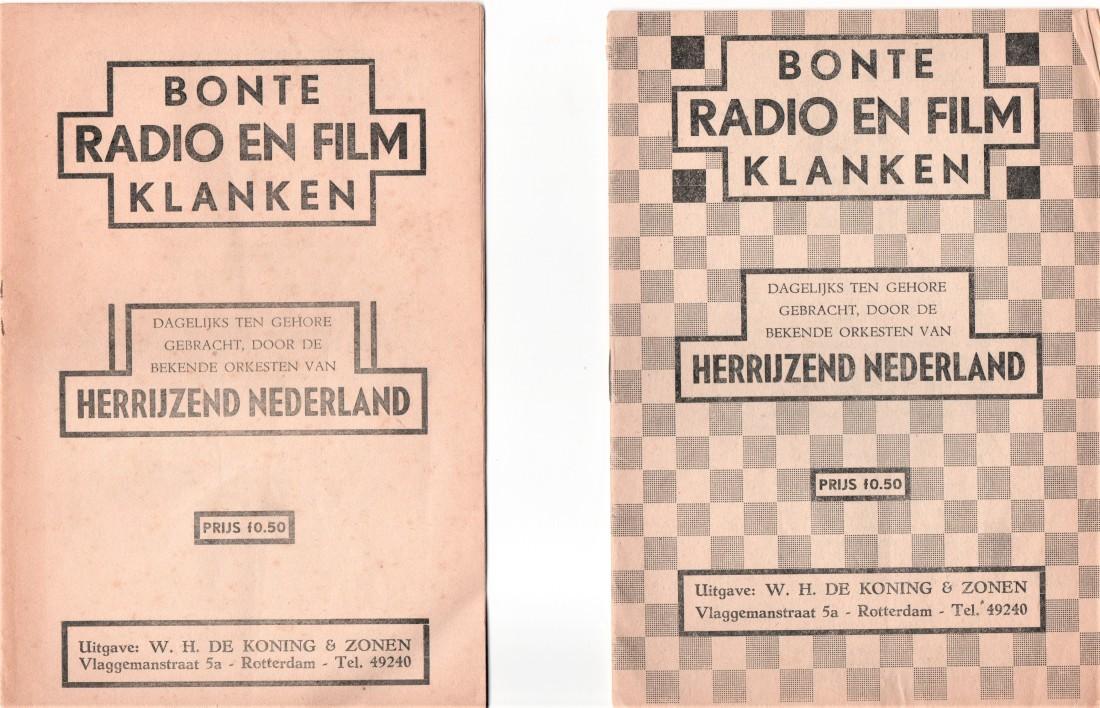 15 Bonte radio en film klanken Herrijzend Nederland 1